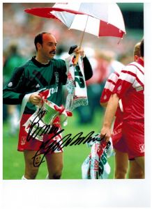 Bruce Grobbelaar, Football, Genuine Signed Autograph